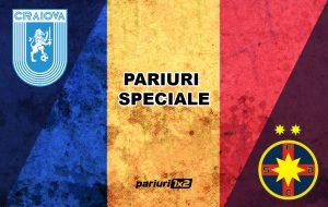 Ponturi fotbal » Univ. Craiova – FCSB: Aici ai cele mai tari pariuri speciale pentru derby-ul etapei!