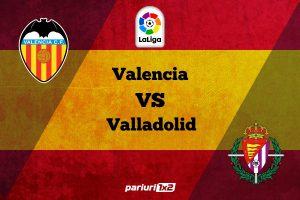 "Pariuri fotbal » Valencia – Valladolid: ""Liliecii"" au patru esecuri in ultimele sase etape!"