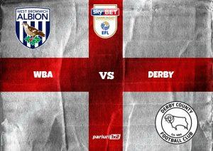 "Pariuri fotbal » WBA – Derby County | Cote de 1.68 si 1.80 intr-un ""derby"" de promovare in Premier League: Bilic vs. Cocu"