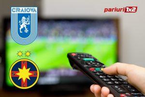 Craiova – FCSB: Unde se vede meciul, care sunt echipele probabile și cotele derby-ului!