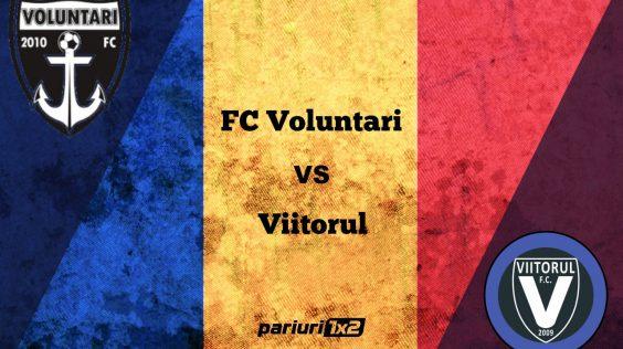 """Pariuri fotbal » FC Voluntari –  Viitorul Constanța » Spectacol garantat pe """"Anghel Iordănescu"""" în duelul primelor două clasate din play-out!"""