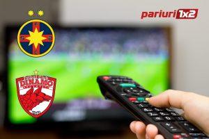 FCSB – Dinamo Bucuresti: Unde se vede meciul + cotele derby-ului, doar AICI!