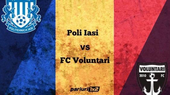 """Pariuri fotbal: Poli Iași – FC Voluntari » Duel al suferinței în """"Copou!"""""""