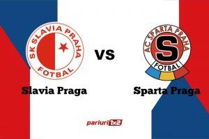 Pariuri fotbal » Slavia Praga – Sparta Praga » Spectacol garantat în derby-ul marilor orgolii din Cehia!