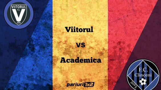 Pariuri fotbal » Viitorul Constanța – Academica Clinceni » Victoria, cuvântul de ordine la dobrogeni!