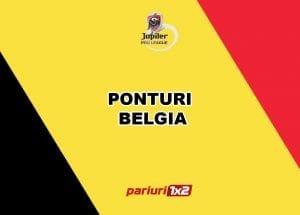 Ponturi fotbal: Aici ai cele mai tari pronosticuri pentru prima runda din Belgia!