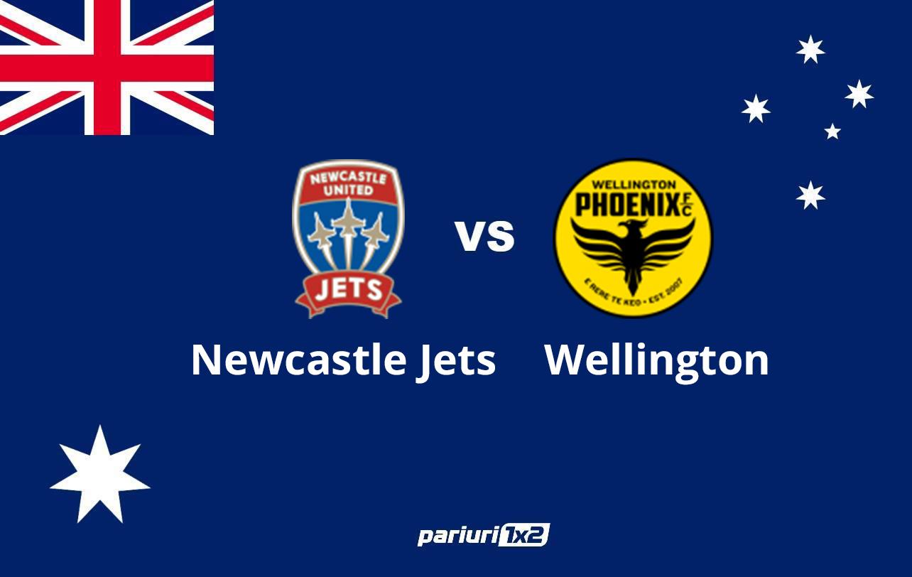 Pariuri fotbal » Newcastle Jets – Wellington Phoenix | Oaspetii inca mai spera la titlu! Cote bune pe goluri: 1.57 si 1.63