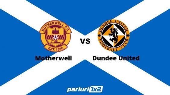 Pariuri fotbal » Motherwell – Dundee United | Nou-promovata are un meci greu in deplasare! Ai cota 2.05 in prima liga scotiana