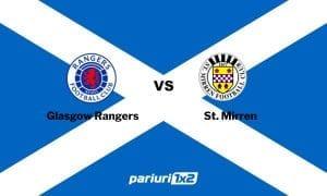 Ponturi fotbal » Glasgow Rangers – St. Mirren | Trupa lui Ianis Hagi este mare favorita! Statistica este zdrobitoare: cote peste 1.50