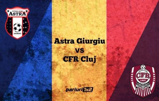 Astra Giurgiu - CFR Cluj 2