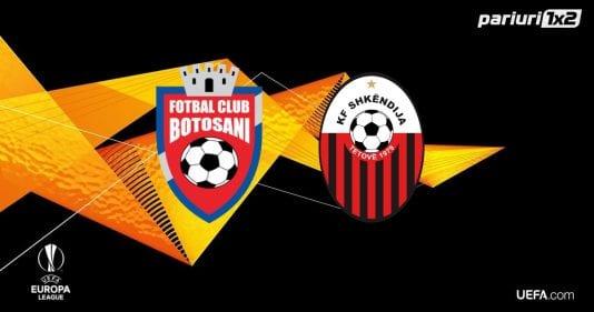 FC BOTOȘANI – SHKENDIJA