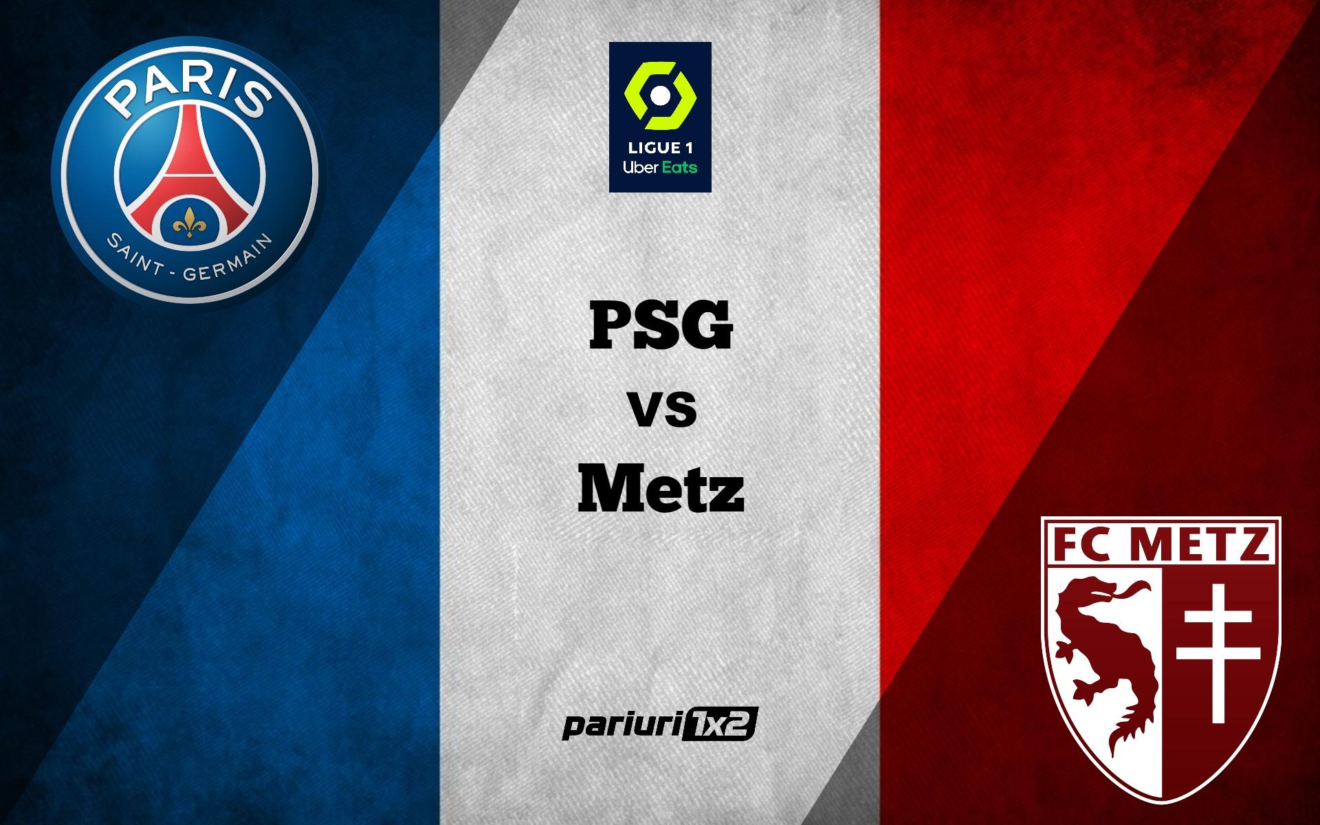 PSG - Metz
