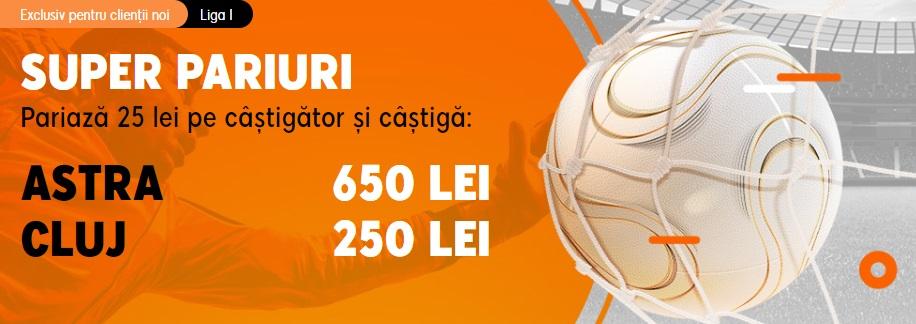 Astra Giurgiu - CFR Cluj