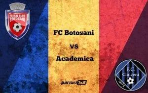 Pariuri fotbal » FC Botoșani – Academica Clinceni » Moldovenii condamnați la victorie pentru a spăla rușinea eliminării din Europa League!