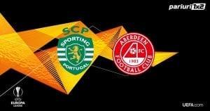 Pariuri fotbal » Sporting – Aberdeen: Portughezii sunt mari favoriti sa ajunga in play-off!