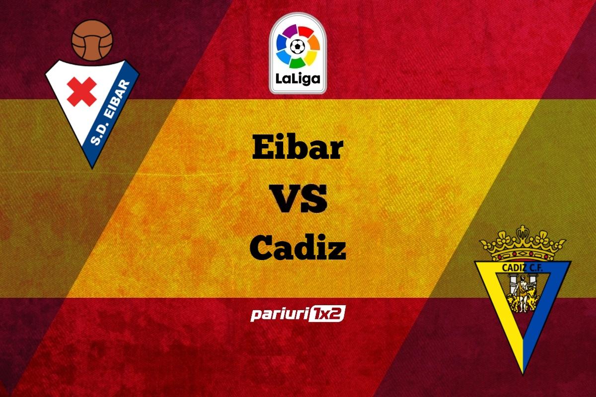 Pariuri fotbal » Eibar – Cadiz: Gazdele au suferit un singur esec in disputele directe!