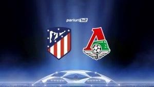 Pariuri fotbal » Atletico – Lokomotiv Moscova: Duel direct pentru locul secund din grupa A!