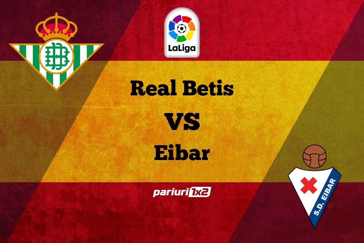 Pariuri fotbal » Betis – Eibar: Probleme in defensiva gazdelor!