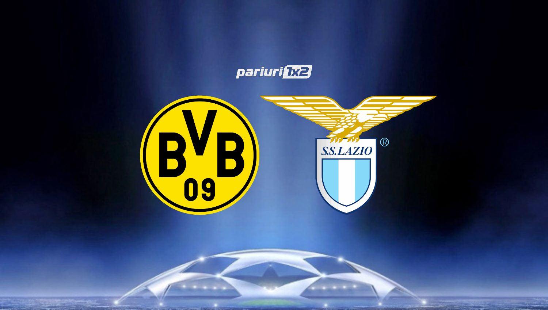 Pariuri fotbal » Dortmund – Lazio: Haaland & co. tintesc revansa dupa infrangerea din tur!