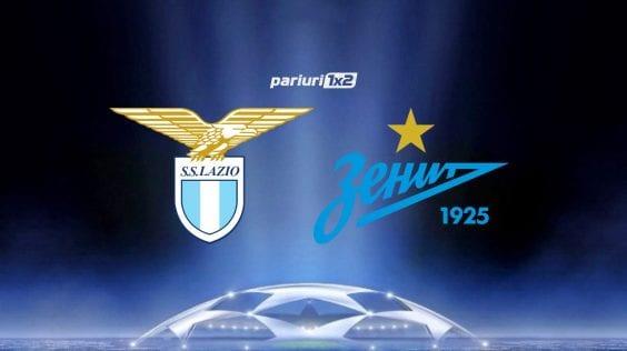 Pariuri fotbal » Lazio – Zenit: Cele doua formatii si-au impartit punctele in tur! Cine se impune acum?!