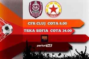 CFR Cluj - TSKA Sofia
