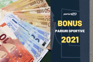Bonusuri pariuri sportive online 2021