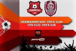 Hermannstadt - CFR Cluj
