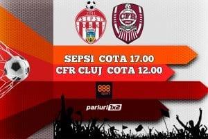 Sepsi - CFR Cluj