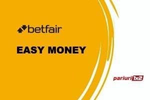 Easy-Money la Betfair: Restart la proiect, pasul 1 cu o selectie din Premier League!
