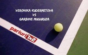 Pariuri tenis » Kudermetova – Muguruza: Rusoaica poate pune probleme!