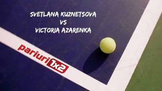 Pariuri tenis » Kuznetsova – Azarenka: Vica s-a impus in ultimele patru dispute directe!