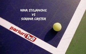 Pariuri tenis » Stojanovic – Cirstea: Sorana cauta sa reediteze succesul de la Nurnberg!