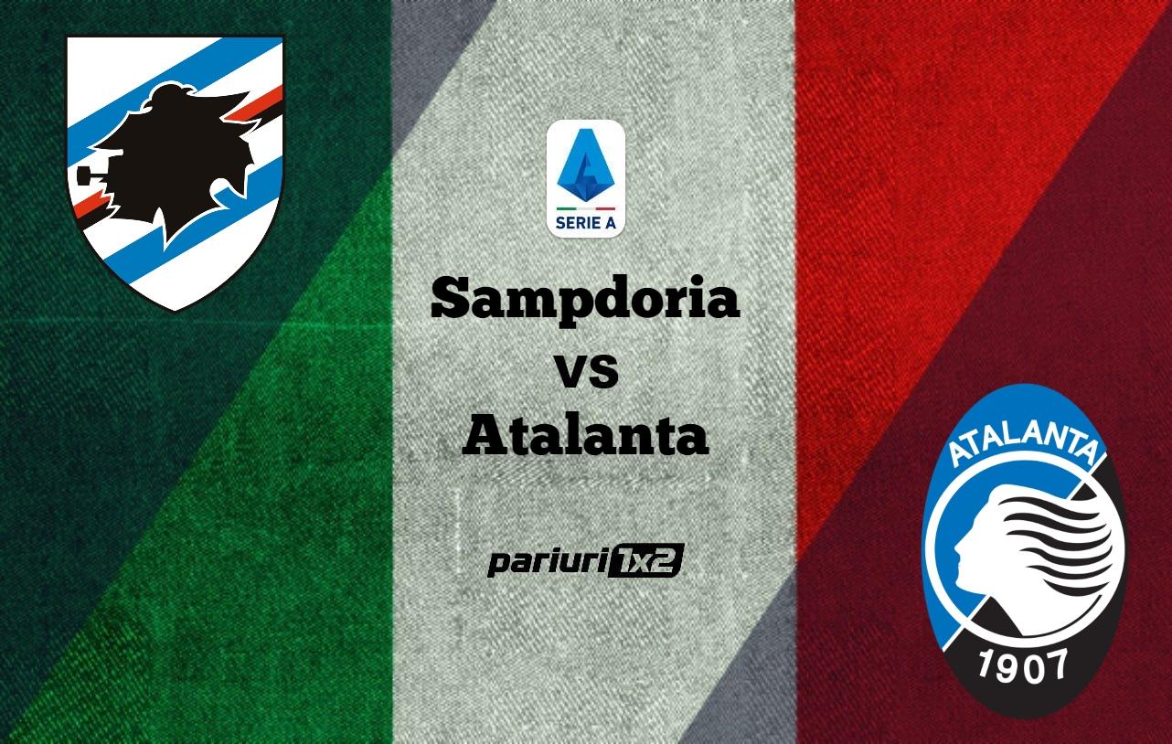 Pariuri fotbal » Sampdoria – Atalanta: Mizam pe goluri la Genova