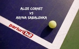 Cornet - Sabalenka