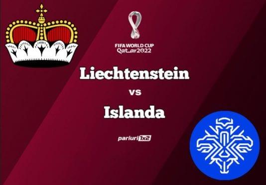 Liechtenstein - Islanda
