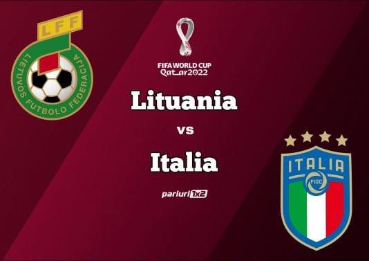 Lituania - Italia