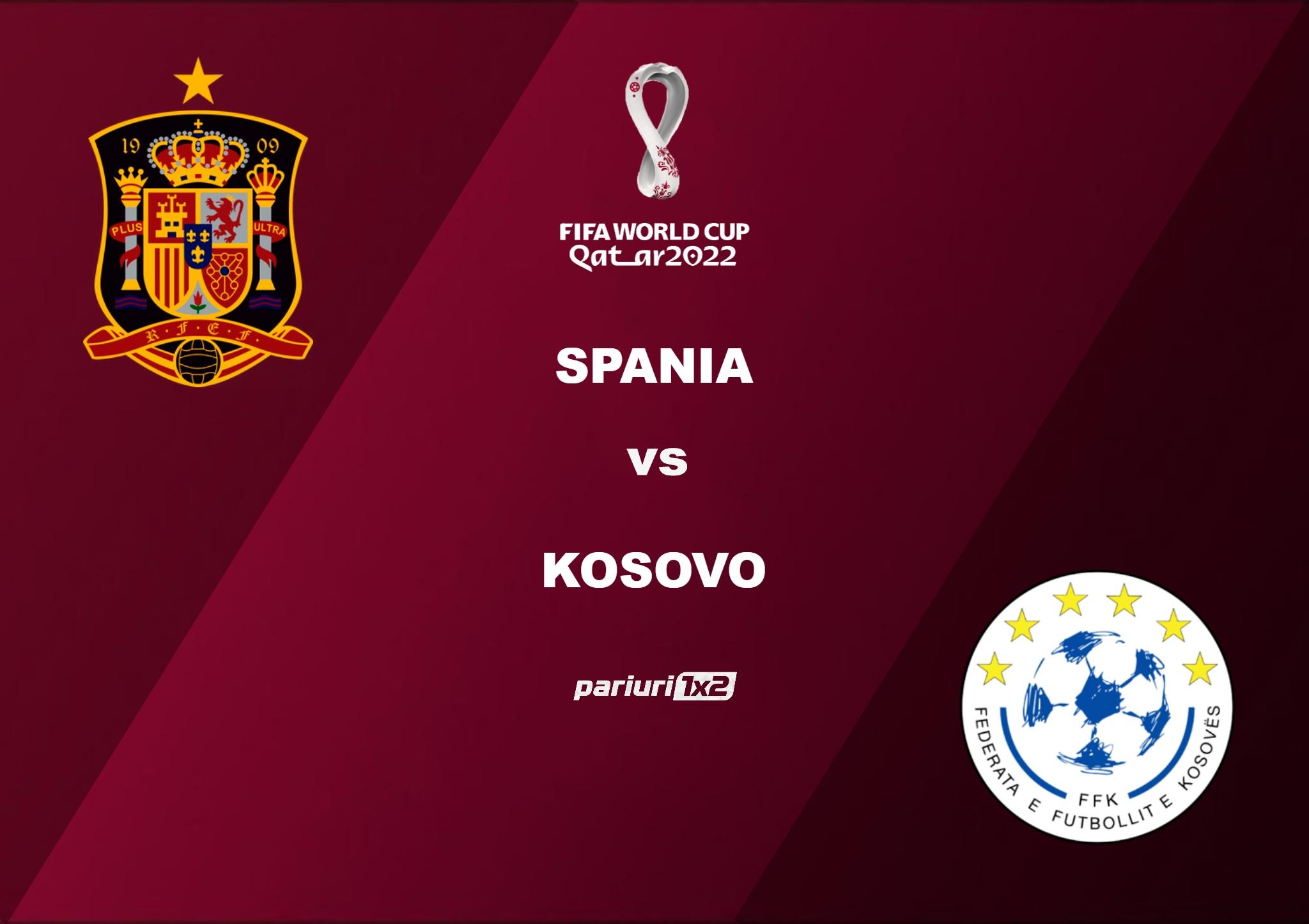 Pariuri fotbal » Spania – Kosovo: Ibericii tintesc a doua victorie din grupa B!