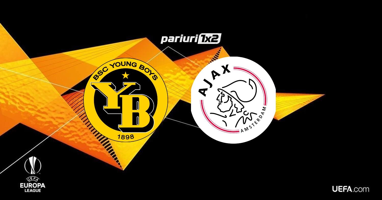 "Ponturi fotbal online » Young Boys – Ajax: Cote de 1.58 si 1.75 pentru un joc solid al ""Lancierilor""!"