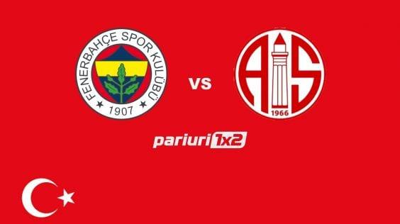 "Pariuri fotbal » Fenerbahce – Antalyaspor: ""Canarii"" tintesc victoria in fata ""campioanei egalurilor""!"