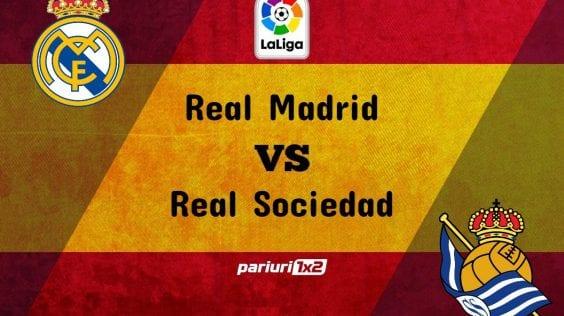 "Pariuri fotbal » Real Madrid – Real Sociedad: Armata de indisponibili in cele doua ""tabere""!"
