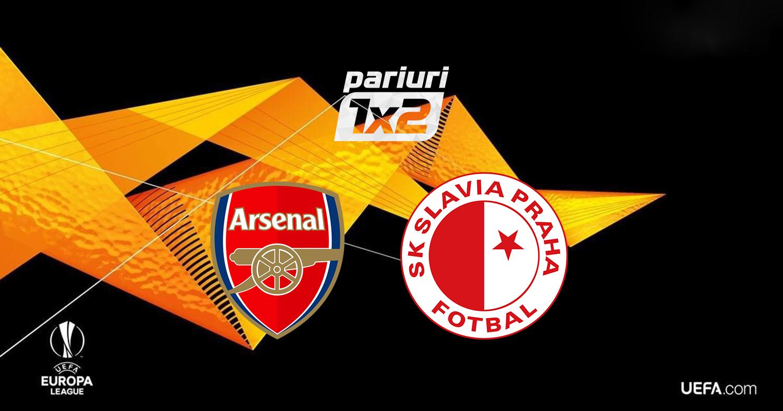 Pariuri fotbal » Arsenal – Slavia Praga | Nicusor Stanciu e la un pas de semifinalele UEFA Europa League! Cota 1.55 pe un pariu inedit