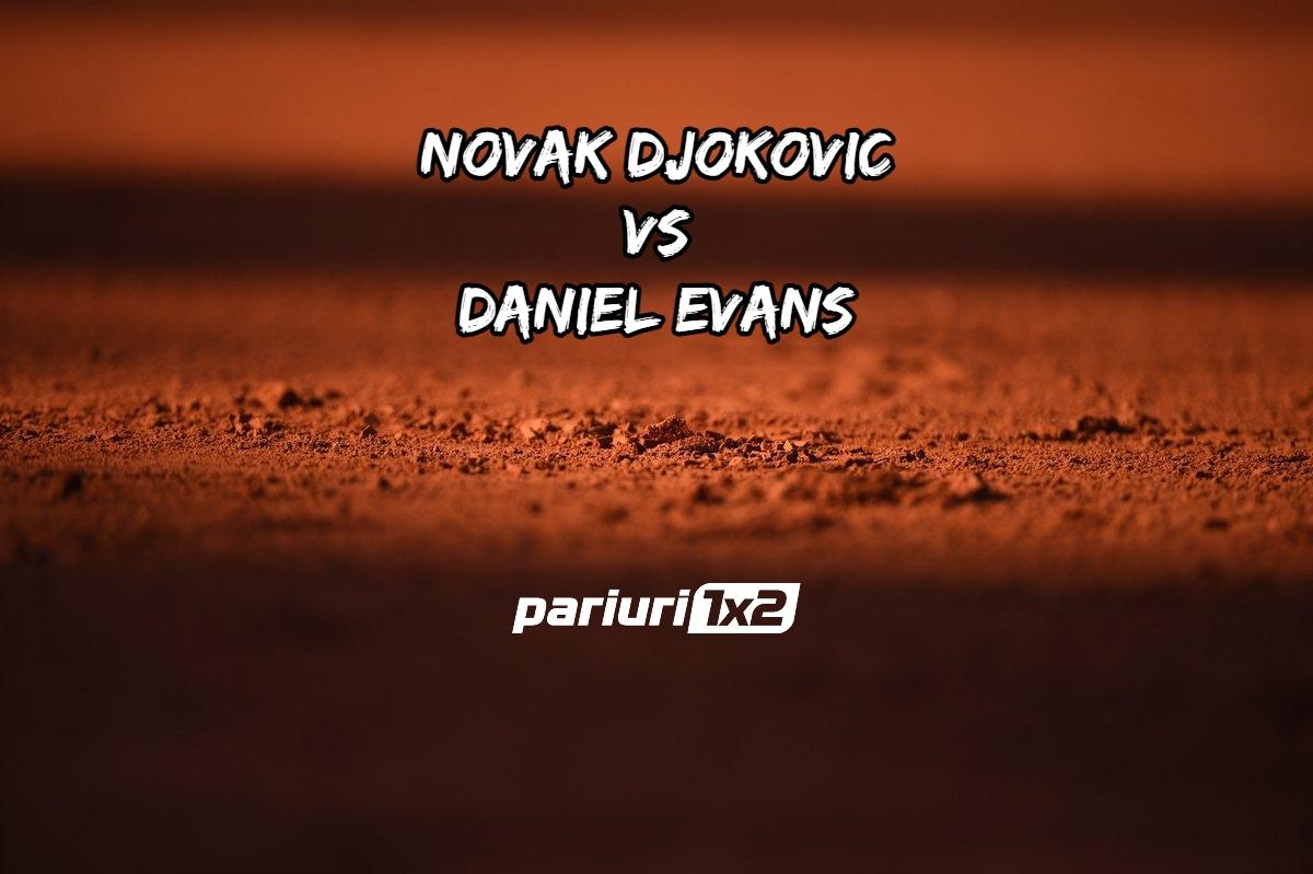 Djokovic - Evans