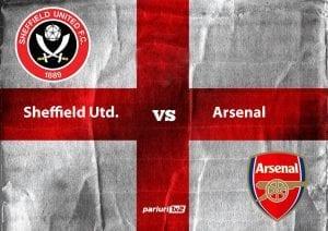 "Pariuri fotbal » Sheffield United – Arsenal | Cota 2.56 pe Brammall Lane: ""tunarii"" au pierdut utlimele doua deplasari aici!"