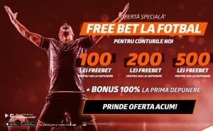 Promotie Exclusiva Betano & Pariuri1x2 in 2021 » 500 RON bonus de bun venit + 500 RON Free Bet la fotbal!!