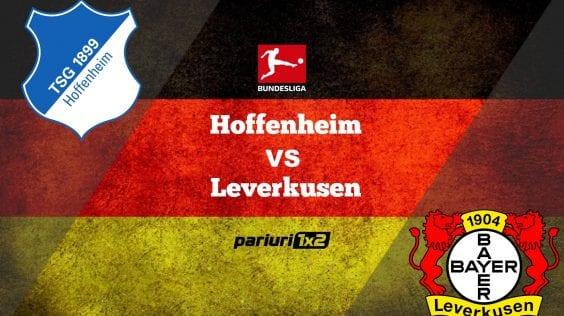 Pariuri fotbal: Hoffenheim – Leverkusen » Bayer, departe de Liga Campionilor