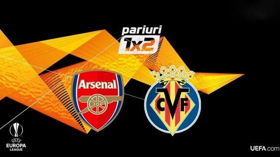 Pariuri fotbal » Arsenal – Villarreal | Unai Emery, cota 1.70 sa ajunga intr-o noua finala de Europa League! Tot ce trebuie sa stii despre semifinala de pe Emirates