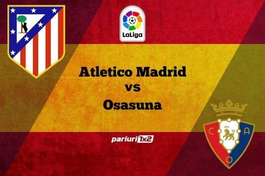 Atletico Madrid - Osasuna