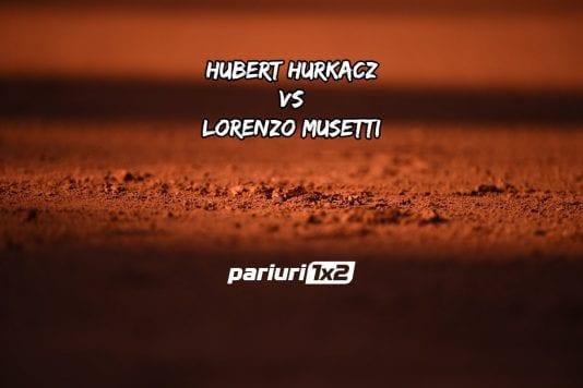Hurkacz - Musetti