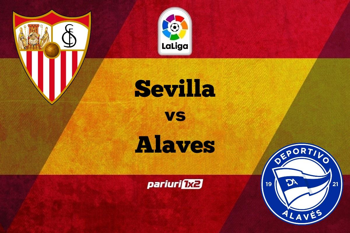 "Ponturi fotbal online » Sevilla – Alaves: Varianta de pariere in cota 1.55 pentru un meci de ""vacanta"" in La Liga!"