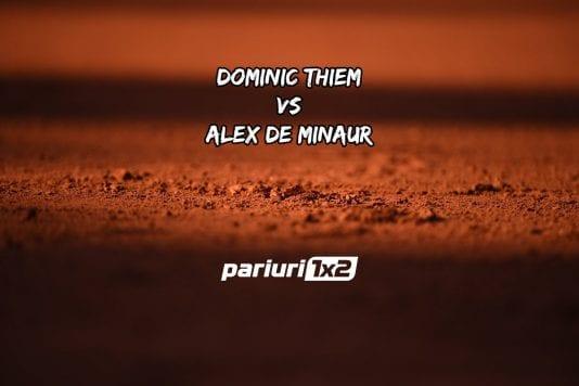 Thiem - De Minaur
